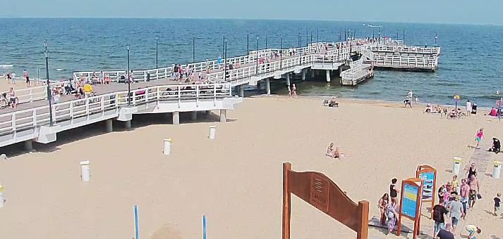 W Gdańsku zamknięto dwa kąpieliska ze względu na bakterie e.coli.